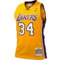 Mitchell & Ness NBA Los Angeles Lakers Shaquille O'Neal 1999-00 Home Swingman marškinėliai