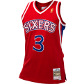 Mitchell & Ness NBA Philadelphia 76ers Allen Iverson 1996-97 Alternate Swingman Jersey