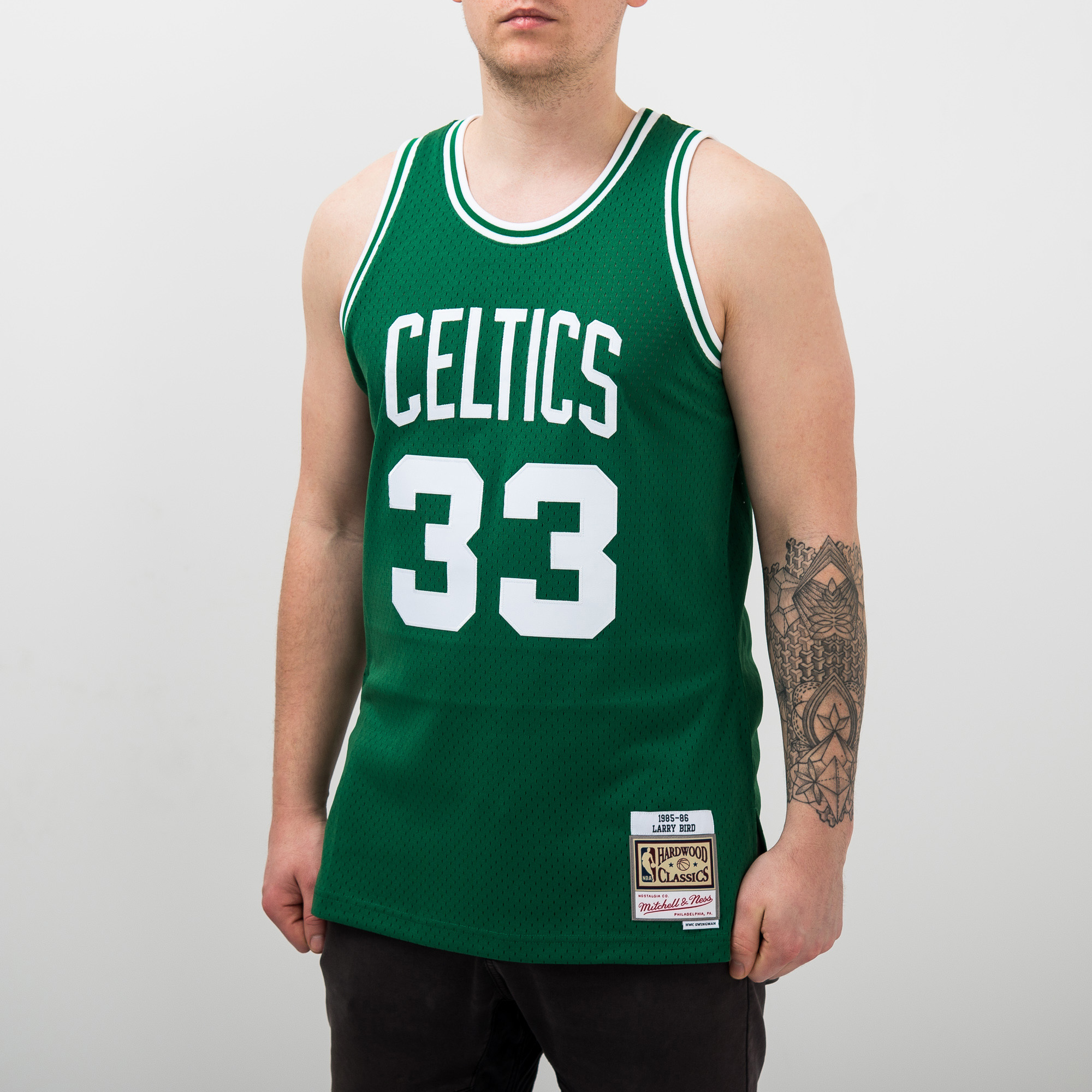 10f8758dff3 Mitchell   Ness NBA Boston Celtics Larry Bird 1985-86 Swingman Jersey - NBA  Shop Boston Celtics Merchandise - Superfanas.lt