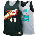 Mitchell & Ness NBA Seattle SuperSonics-All-Star 1996 Shawn Kemp Reversible Mesh Tank