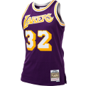 Mitchell & Ness NBA Los Angeles Lakers Magic Johnson 1984-85 Swingman marškinėliai