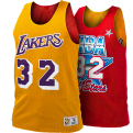 Mitchell & Ness NBA Los Angeles Lakers-All-Star 1991 Magic Johnson dvipusiai marškinėliai