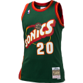 Mitchell & Ness NBA Seattle Supersonics Gary Payton 1995-96 Road Swingman Jersey