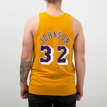 6c04127e72e7d ... Mitchell   Ness NBA Los Angeles Lakers-All-Star 1991 Magic Johnson  Reversible Mesh ...