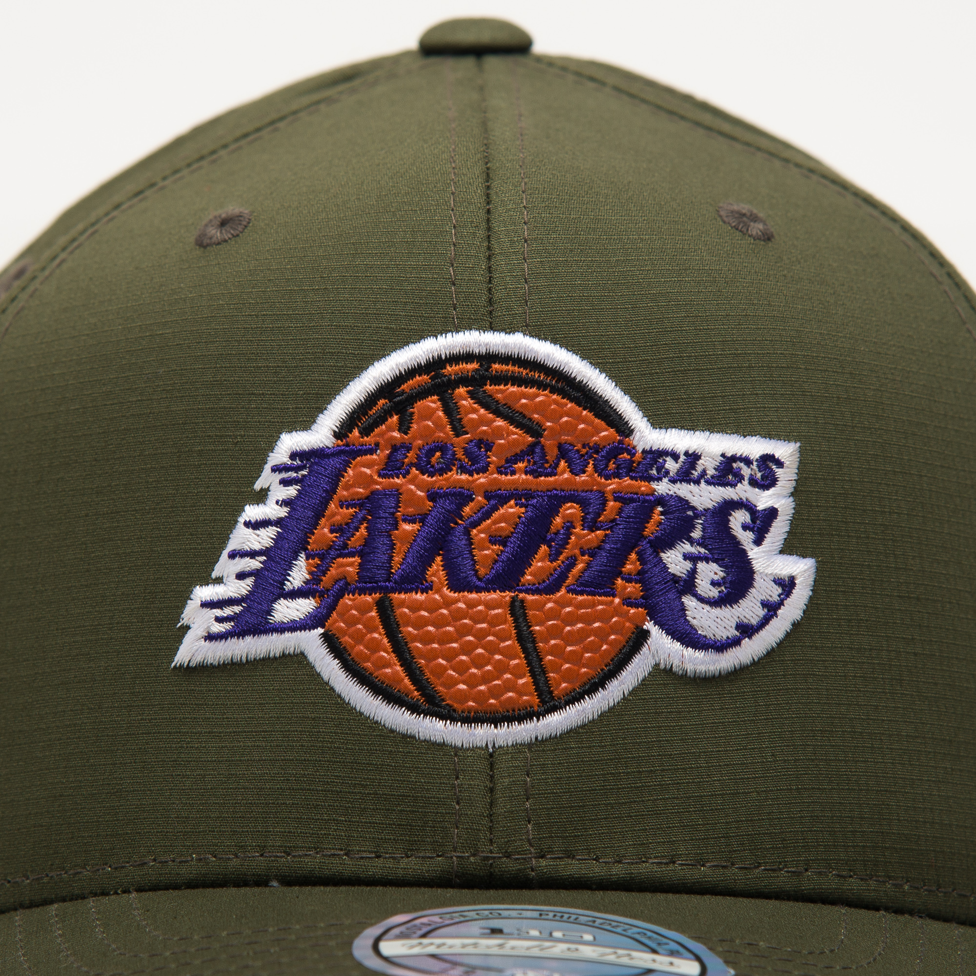 Mitchell Amp Ness Nba Los Angeles Lakers Battle Snapback Cap