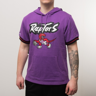 Mitchell & Ness NBA Toronto Raptors French Terry Hoody džemperis