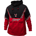 Mitchell & Ness NBA Chicago Bulls Half Zip Anorak plona striukė