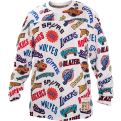 Mitchell & Ness NBA All Over Western Hockey Long Sleeve Jersey marškinėliai