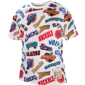 Mitchell & Ness NBA All Over Western Mesh Tee