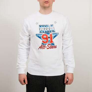Mitchell & Ness NBA All-Star 1991 ASG Fleece Crew džemperis