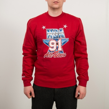 Mitchell & Ness NBA All-Star 1991 West ASG Fleece Crew džemperis