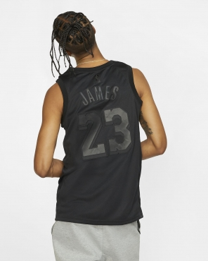 super popular e509d e9f82 Nike NBA Los Angeles Lakers LeBron James MVP Swingman Jersey ...