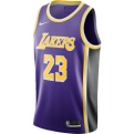 Nike NBA Los Angeles Lakers LeBron James Statement Edition Swingman Jersey