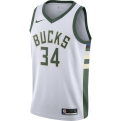 Nike NBA Milwaukee Bucks Giannis Antetokounmpo Association Edition Swingman Jersey