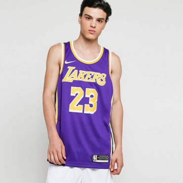 Nike NBA Los Angeles Lakers LeBron James Statement Edition Swingman marškinėliai