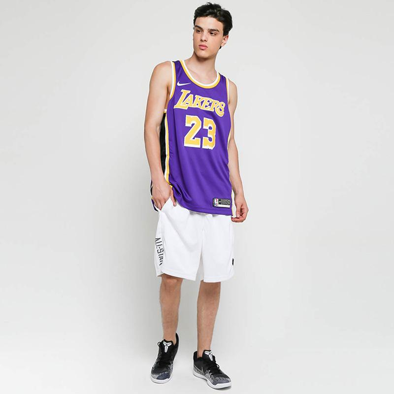 best service 3dcef 1f654 Nike NBA Los Angeles Lakers LeBron James Statement Edition ...