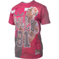 Mitchell & Ness NBA City Pride Chicago Bulls Dennis Rodman Tee