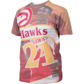 Mitchell & Ness NBA City Pride Atlanta Hawks Dominique Wilkins Tee