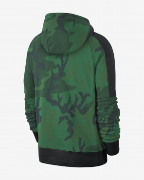 Nike NBA Boston Celtics Camo Hoodie džemperis