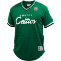 Mitchell & Ness NBA Boston Celtics Special Script Mesh V-Neck T-Shirt