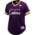 Mitchell & Ness NBA Los Angeles Lakers Special Script Mesh V-Neck T-Shirt