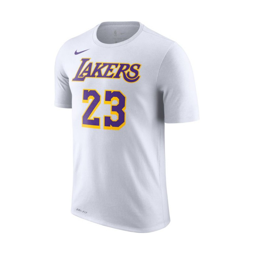 big sale 02e5b ce8bf Nike NBA Los Angeles Lakers LeBron James Dri-FIT Tee - NBA ...