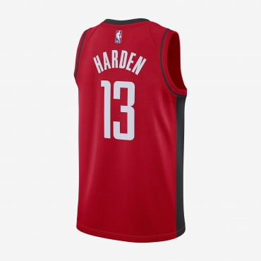 Nike NBA Houston Rockets James Harden Icon Edition Swingman Jersey marškinėliai
