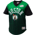 Mitchell & Ness NBA Boston Celtics Game Winning Shot Mesh V-Neck T-Shirt
