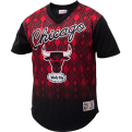 Mitchell & Ness NBA Chicago Bulls Game Winning Shot Mesh V-Neck T-Shirt