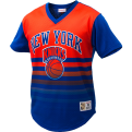 Mitchell & Ness NBA New York Knicks Game Winning Shot Mesh V-Neck T-Shirt