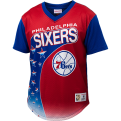 Mitchell & Ness NBA Philadelphia 76ers Game Winning Shot Mesh V-Neck T-Shirt