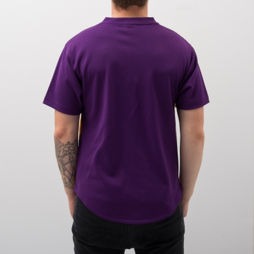 Mitchell & Ness NBA Los Angeles Lakers Game Winning Shot Mesh V-Neck marškinėliai