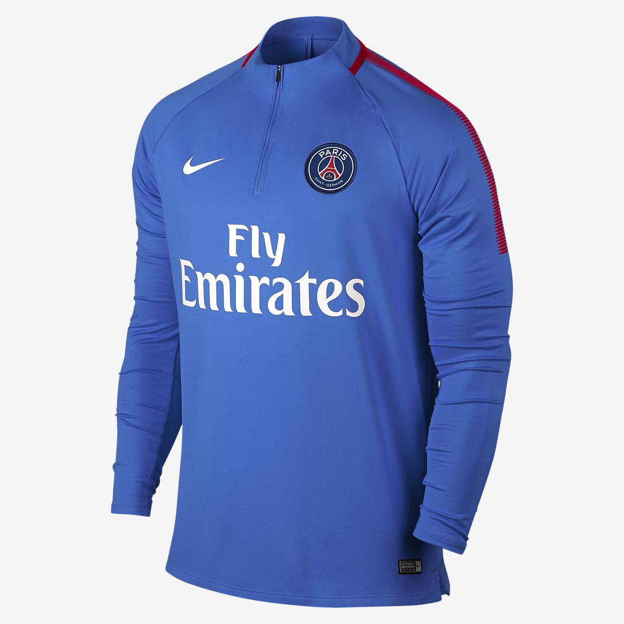dc06fa999276 Nike Paris Saint-Germain Squad Drill 17-18 Top - Soccer Shop Paris Saint  Germain Merchandise - Superfanas.lt