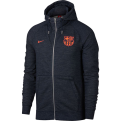 Nike NSW FC Barcelona Authentic Full Zip Hoodie