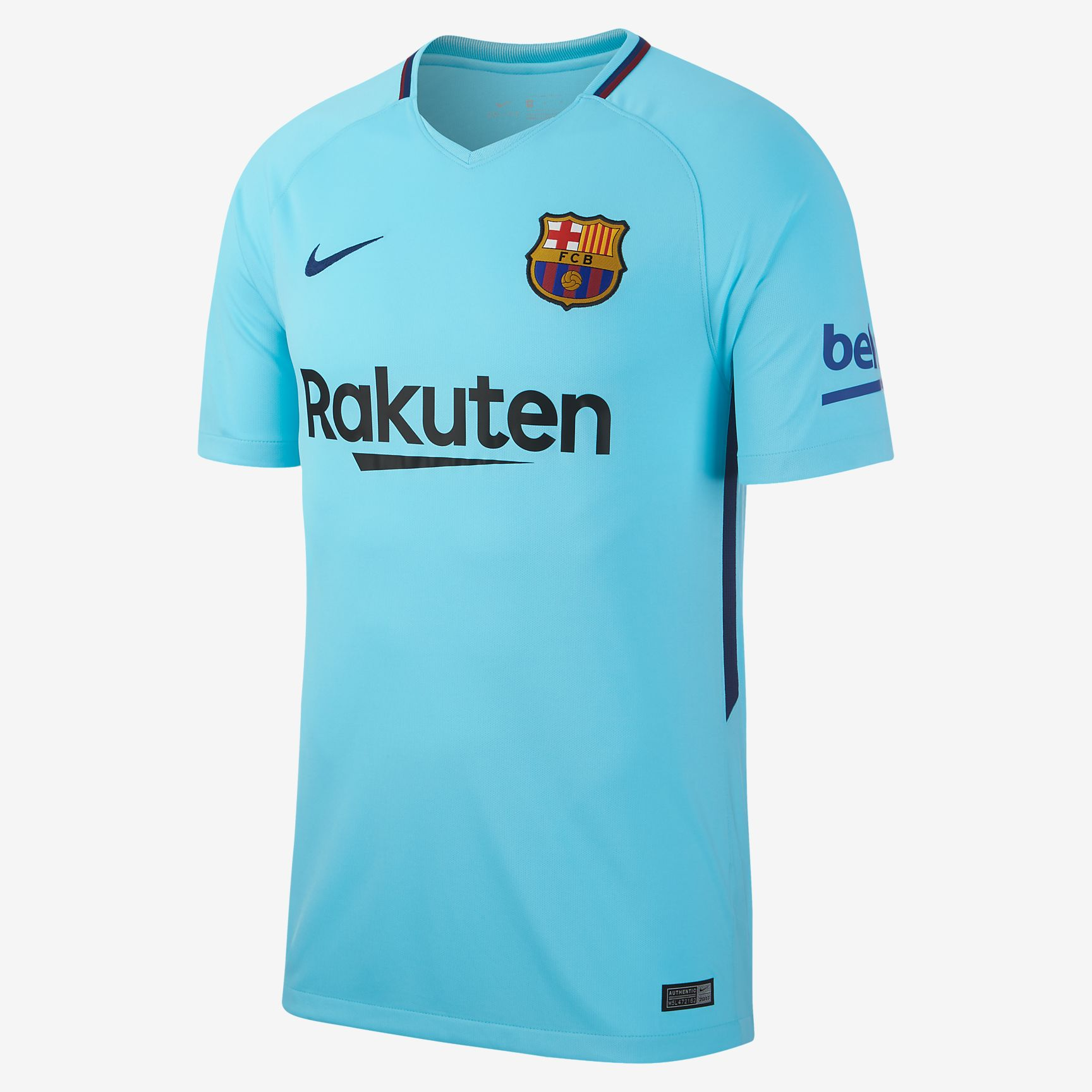 uk availability c4049 a7eed Nike FC Barcelona 17-18 Stadium Away Jersey - Soccer Shop ...
