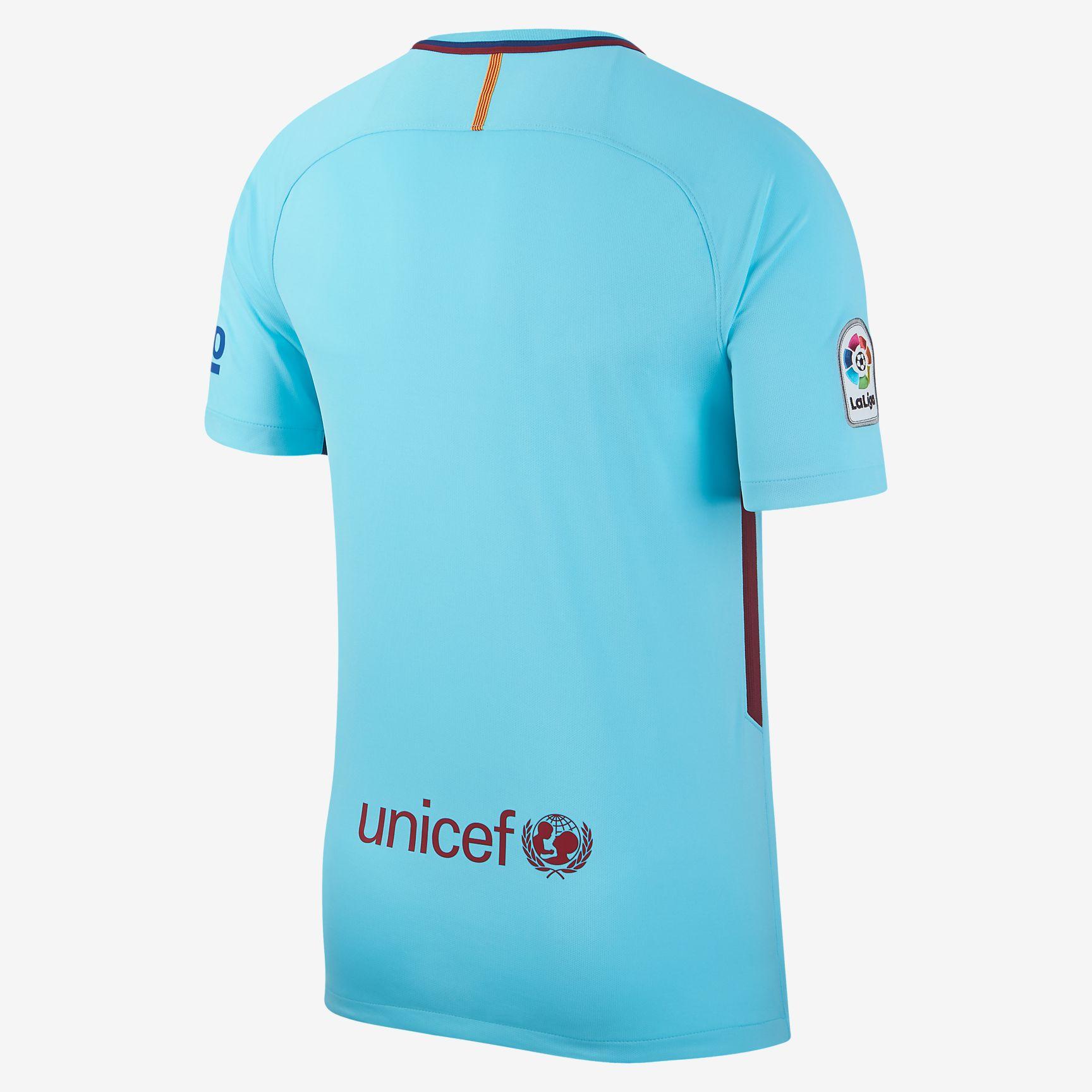 fb5ba0aaa Nike FC Barcelona 17-18 Stadium Away Jersey - Soccer Shop Barcelona FC  Merchandise - Superfanas.lt