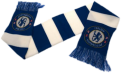 Chelsea FC Striped Scarf