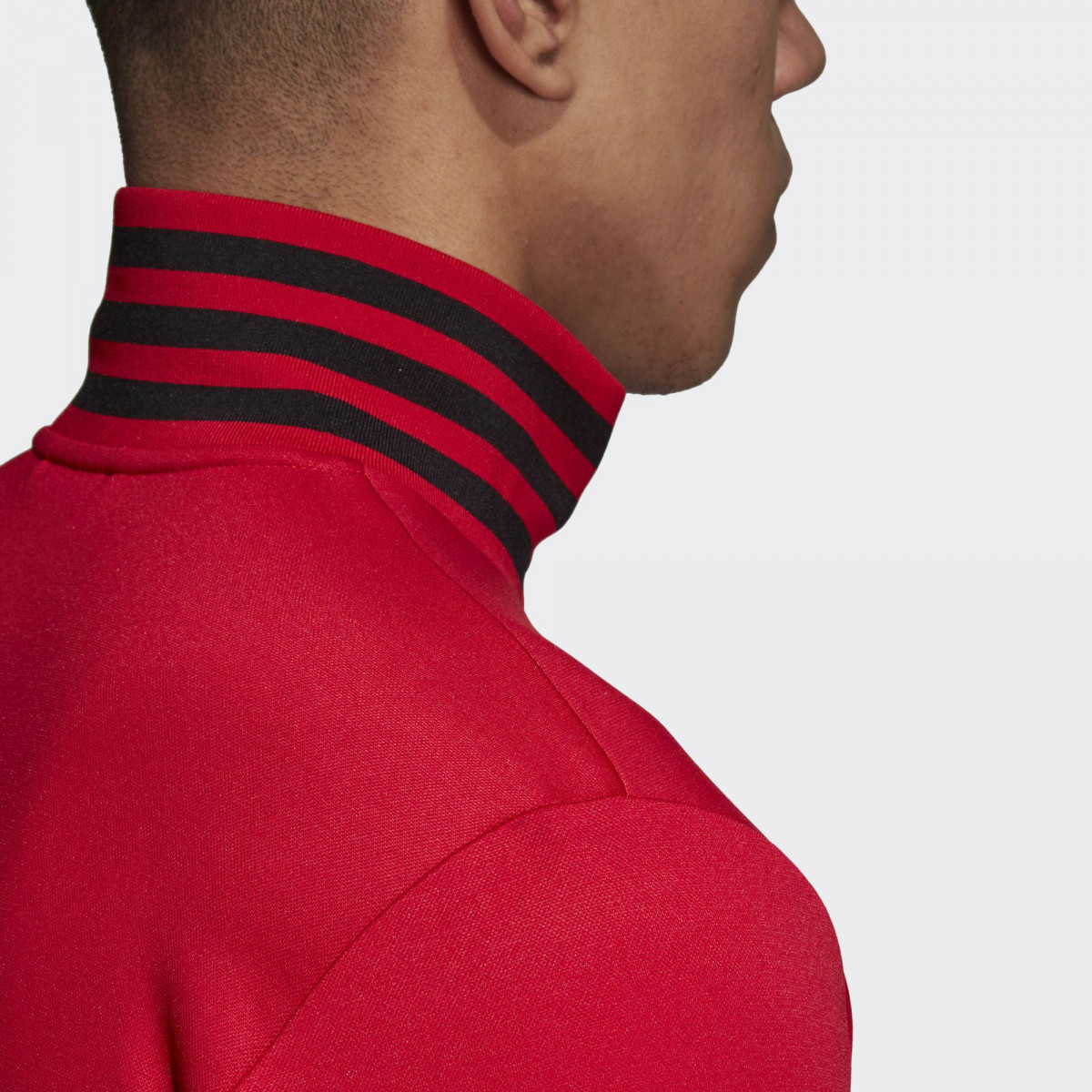 86324cf3d10 adidas Manchester United 3 Stripes Track Jacket - Soccer Shop ...