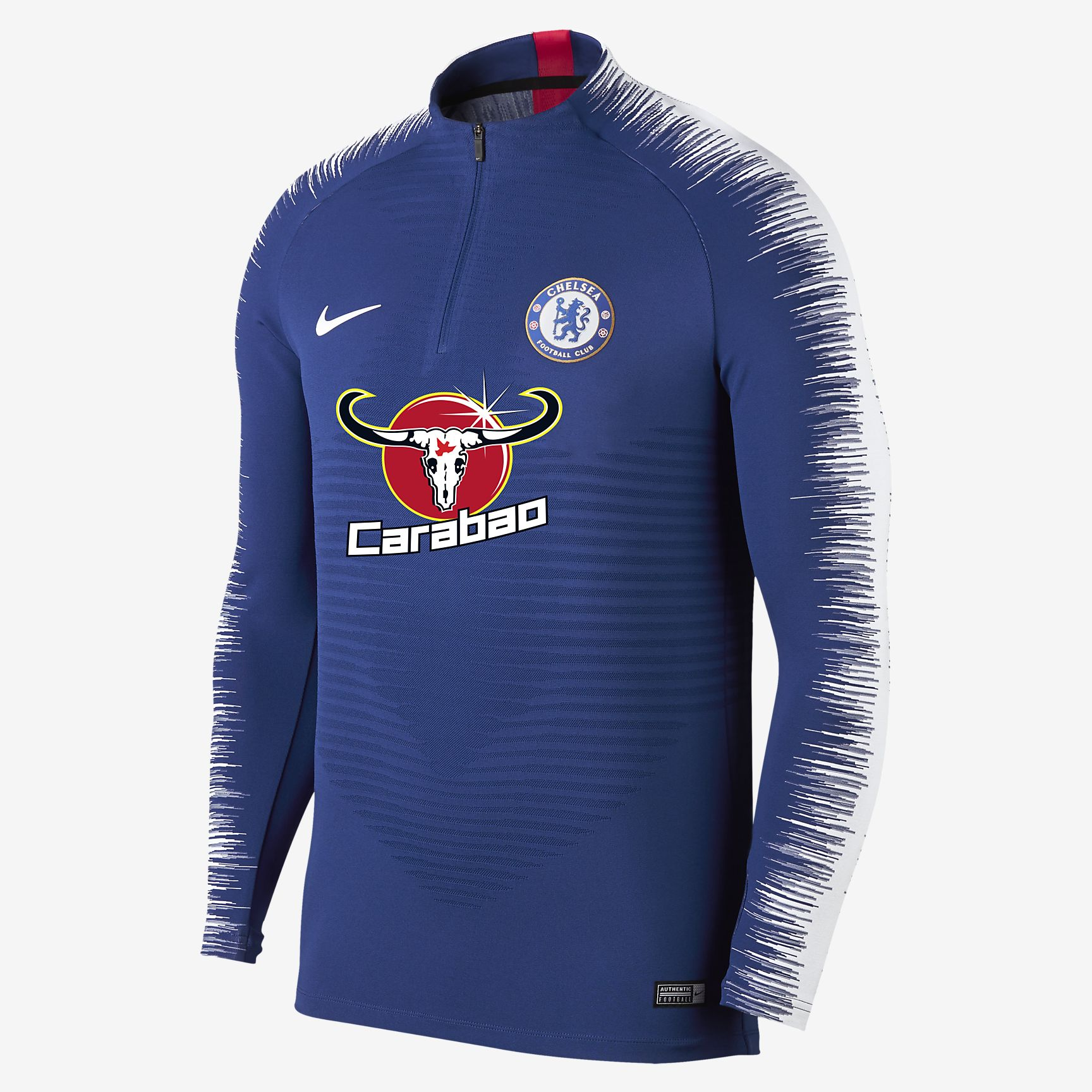 734c0791a Nike Chelsea FC 2018-19 VaporKnit Strike Drill Long Sleeve Football Top -  Soccer Shop London Chelsea Merchandise - Superfanas.lt