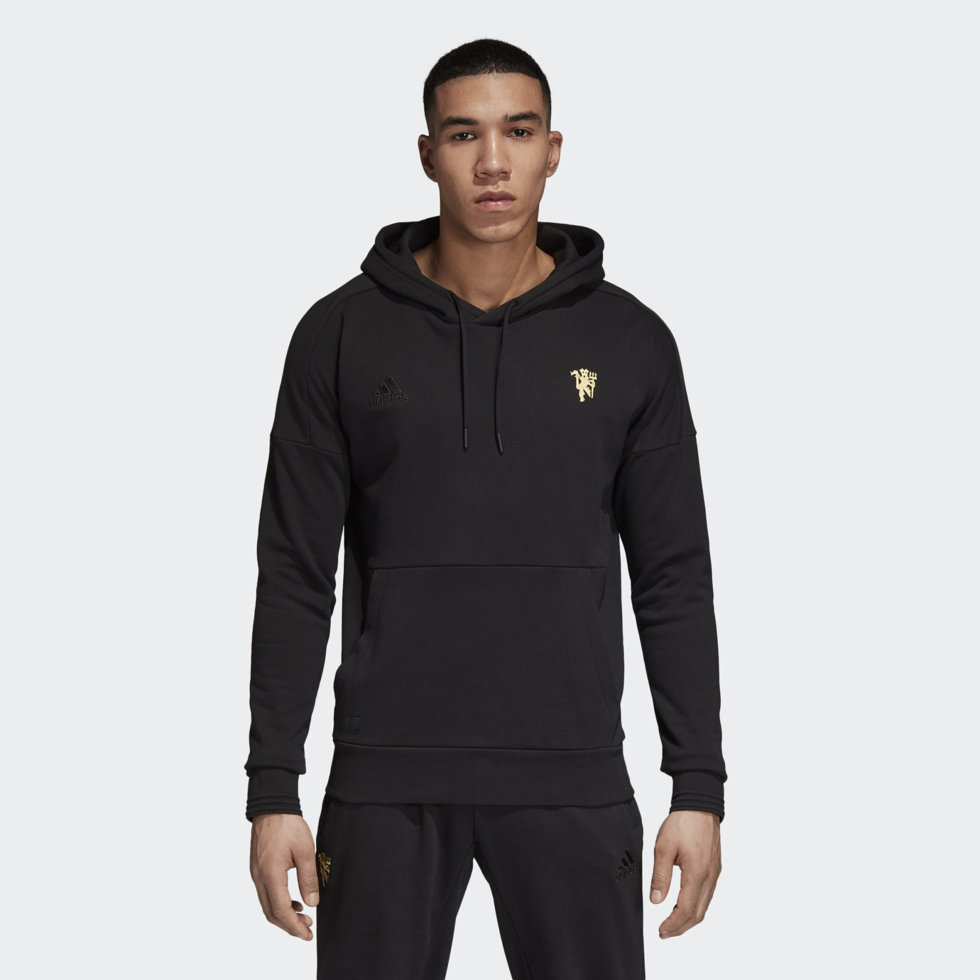 best service 6c7ff 3de99 adidas Manchester United Seasonal Special Hoodie - Soccer ...