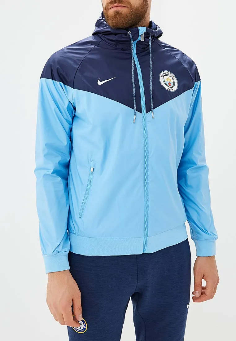 f158e269e2 Nike Manchester City FC 2018-19 Windrunner Jacket - Soccer Shop Manchester  City Merchandise - Superfanas.lt
