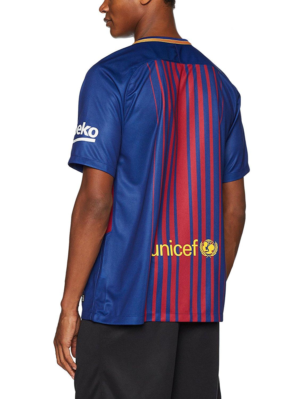 2b66d2c180b Nike Barcelona FC 2018-19 Stadium Soccer Home Jersey - Soccer Shop ...