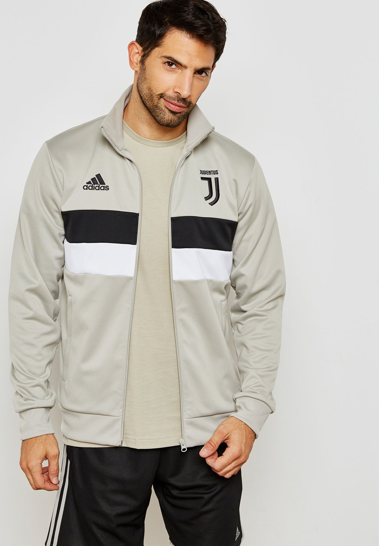 4e911b587 adidas FC Juventus 2018-19 3 Stripe Track Jacket - Soccer Shop Turin  Juventus Merchandise - Superfanas.lt