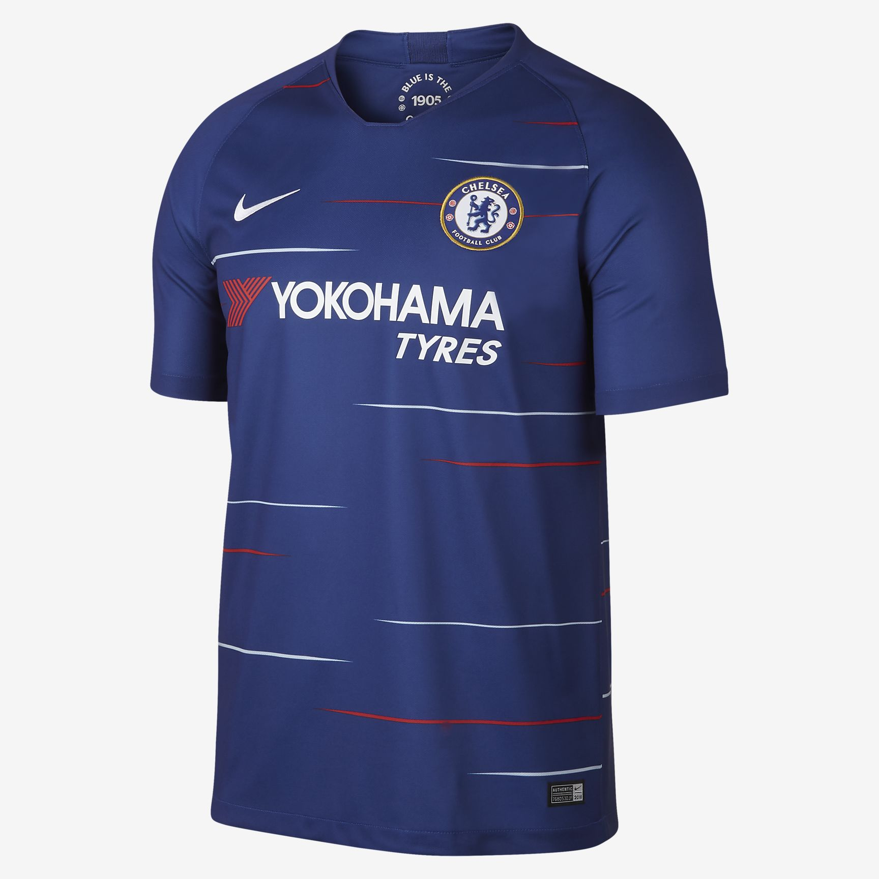 f8d35950c24 Nike FC Chelsea 2018-19 Stadium Soccer Home Jersey - Soccer Shop London  Chelsea Merchandise - Superfanas.lt