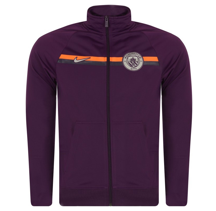 new style a705a 0b43a Nike FC Manchester City 2018-19 Training Jacket - Soccer ...
