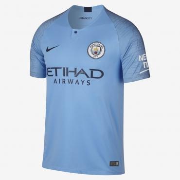 best service 5a660 2f518 Nike FC Manchester City 2018-19 Stadium Home Jersey - Soccer ...