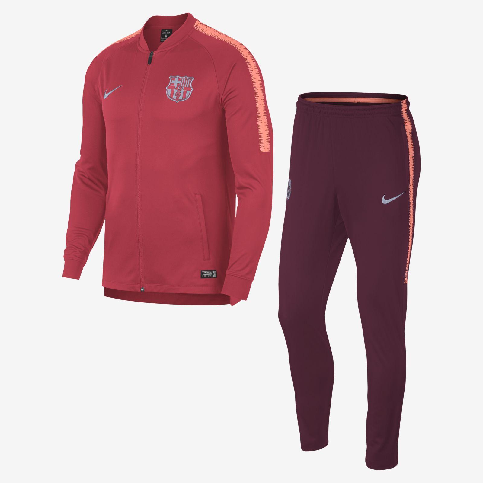 on sale 4725a 0e4d8 Nike FC Barcelona 2018 19 Dri-FIT Squad Football Track Suit (Size M) - Soccer  Shop Barcelona FC Merchandise - Superfanas.lt