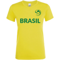 Brazil National Football Team Fan WMNS Tee