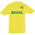 Brazil National Football Team Fan Junior Tee