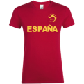 Spain National Football Team Fan WMNS Tee
